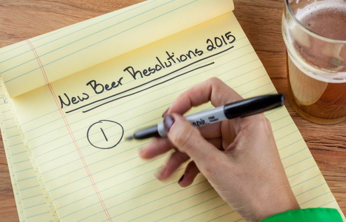 10 New Year's beer resolutions