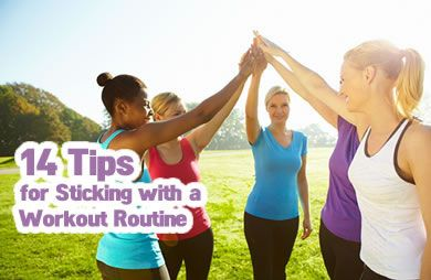 How to Stick with an Exercise Routine