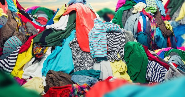 Why can't clothes just be recycled?