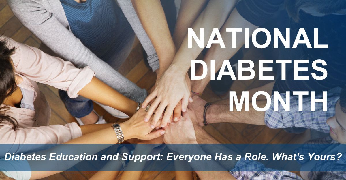 National Diabetes Month 2017