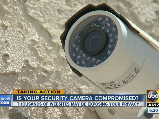 See which websites may be spying on your surveillance cameras