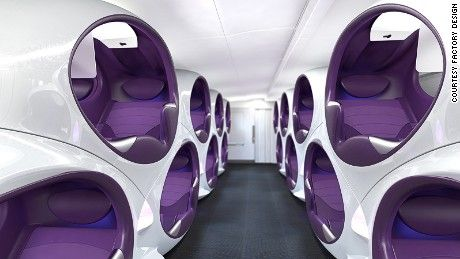 Inside the airline cabins of the future