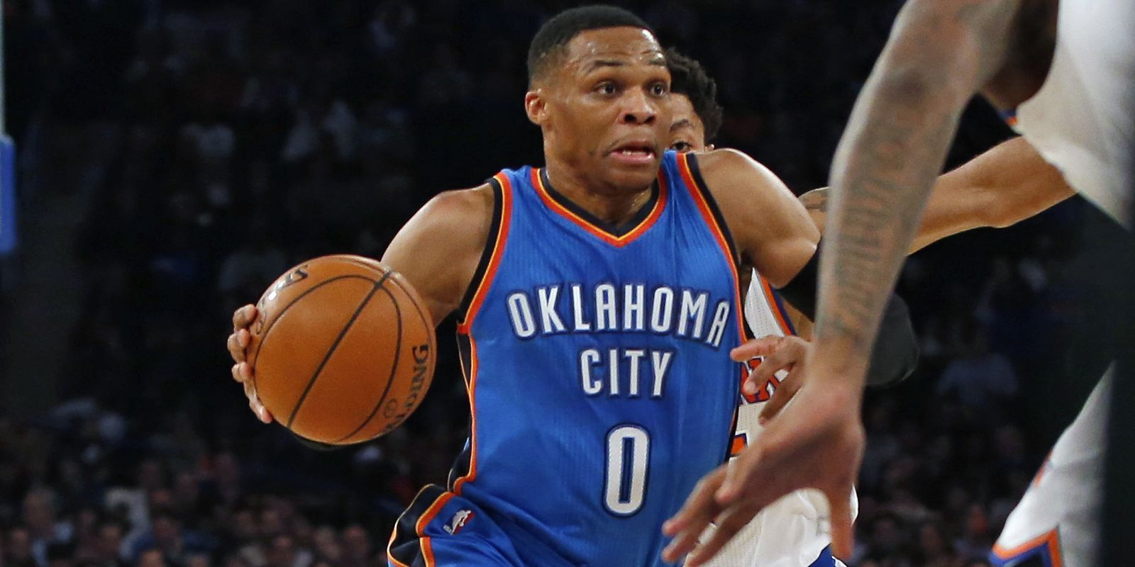 Russell Westbrook overwhelms Knicks