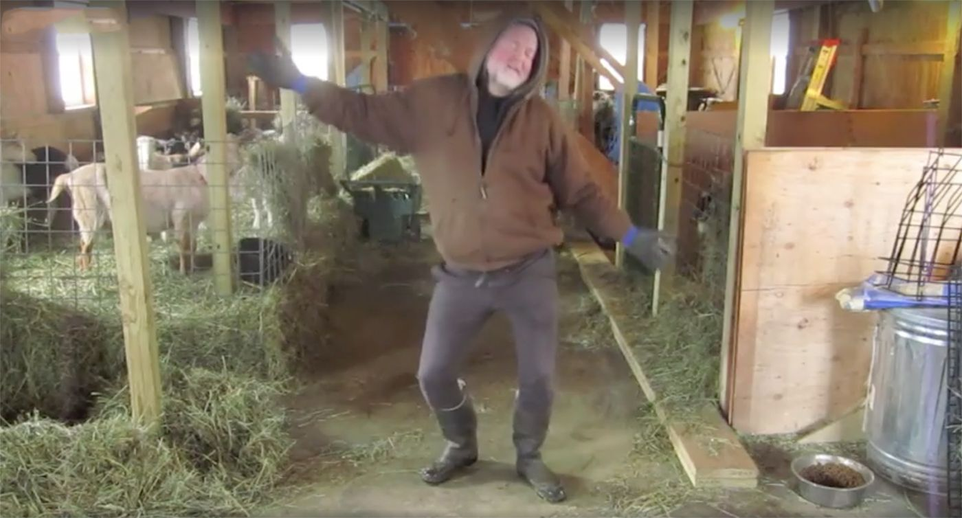 This Infectious Video of a Farmer Dancing In His Barn Is Going Mega-Viral