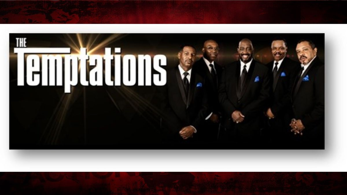 The Temptations coming to Corpus Christi