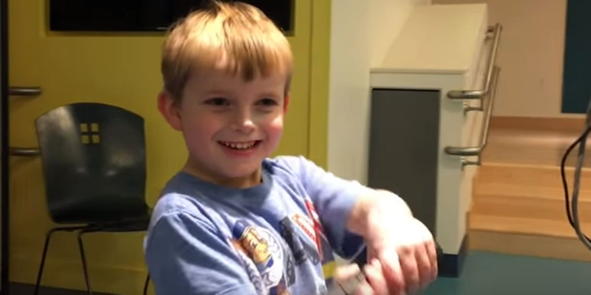Watch 5-Year-Old Ari Find Out He's Getting A New Heart