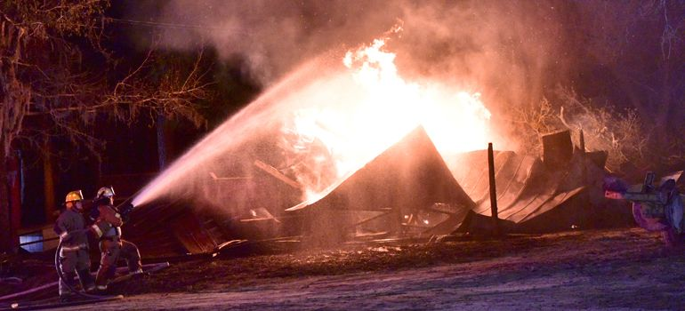 Arson suspected after fire destroys tents at historic UMC campground