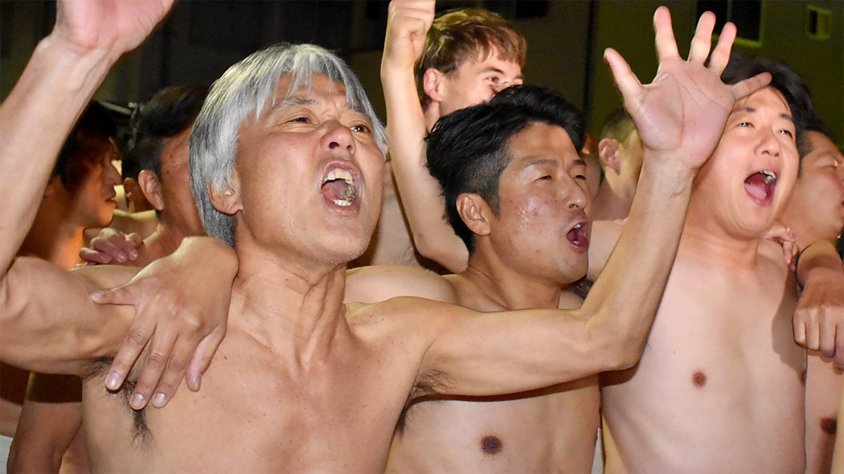 The World's Most Extreme Festivals, Japanese Naked Man Festival