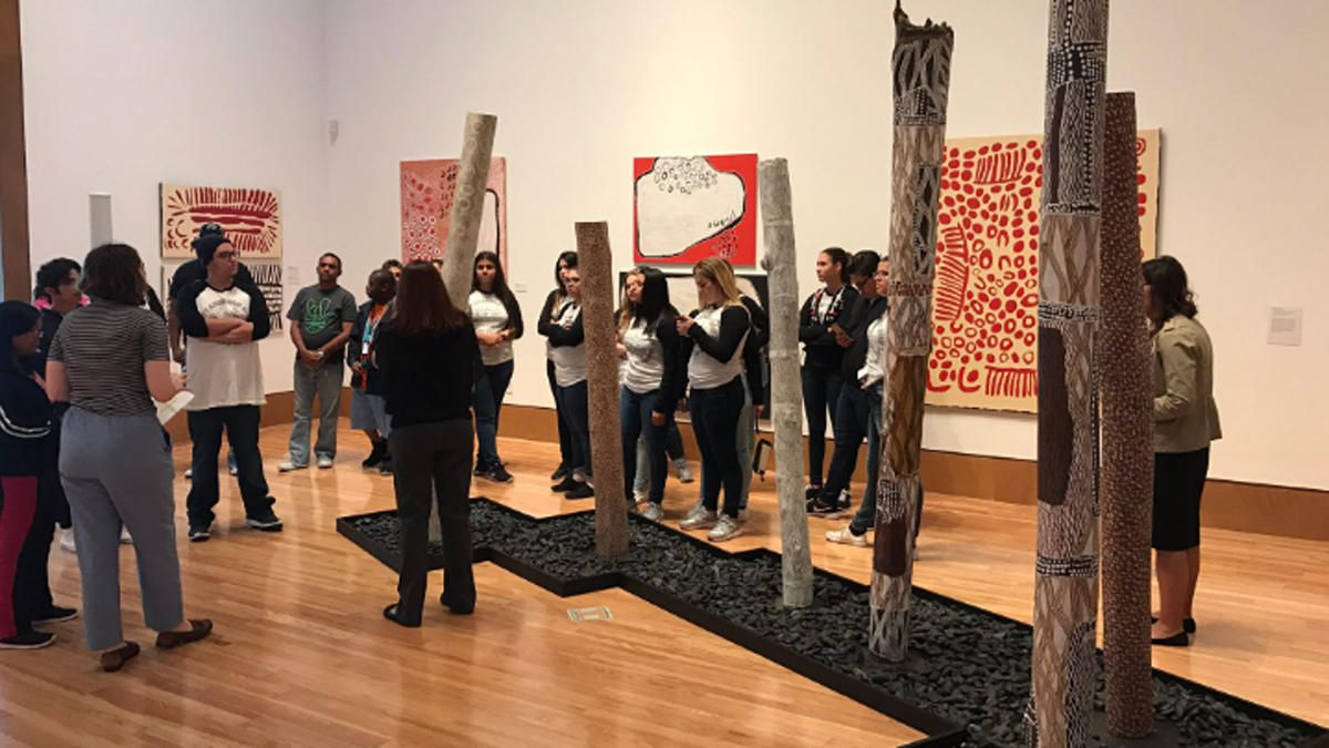 Deaf South Florida Students Participate in Museum Program