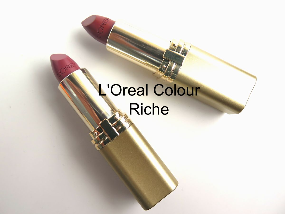 L'Oréal Paris Newest Lipsticks and Gloss Collections