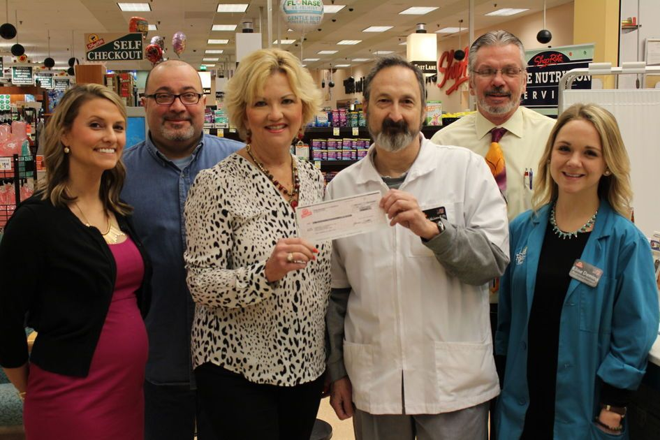 South Jersey ShopRite stores raise $1,500 for food bank