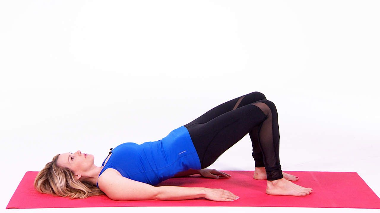 3 exercises for a stronger pelvic floor and lower abs by for Floor exercises for abs