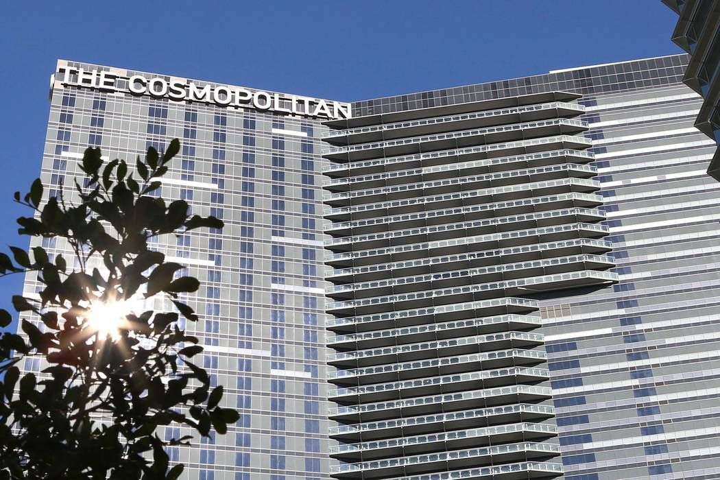 cosmopolitan las vegas parking