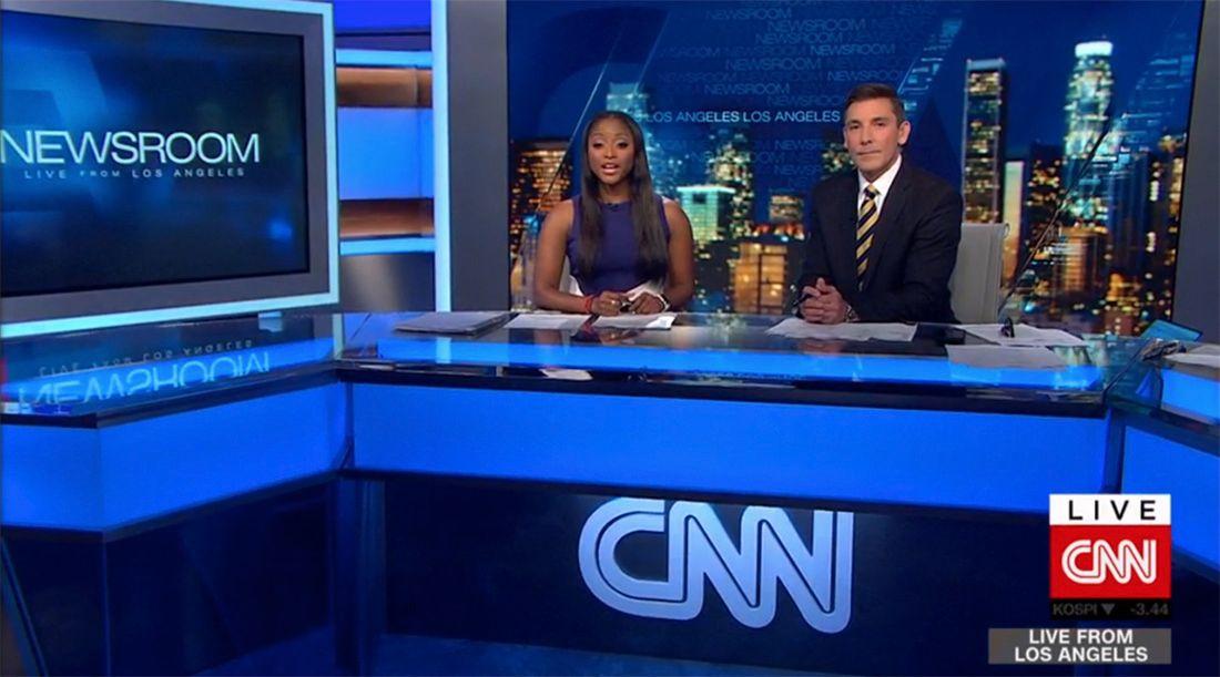 CNN Update: Los Angeles Bureau Studio Update For CNN Debuts By Planar