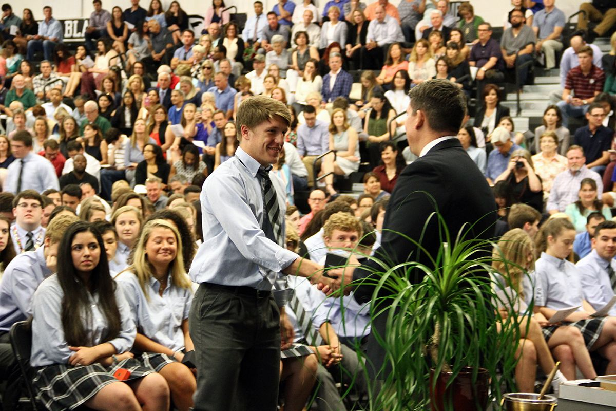 BLHS Juniors Honored During Annual Ring Ceremony