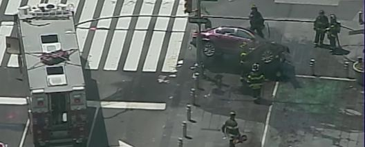 Times Square Car Crash Kills Woman, Injures 22 Others