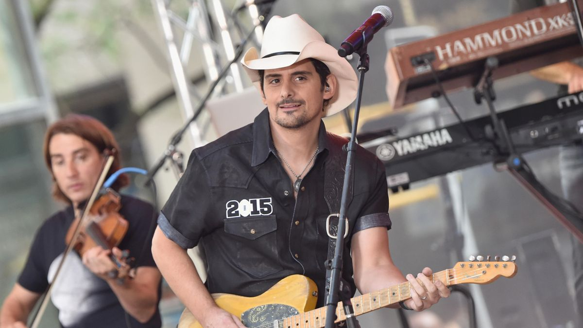 Brad Paisley Featured on 'Cars 3' Soundtrack