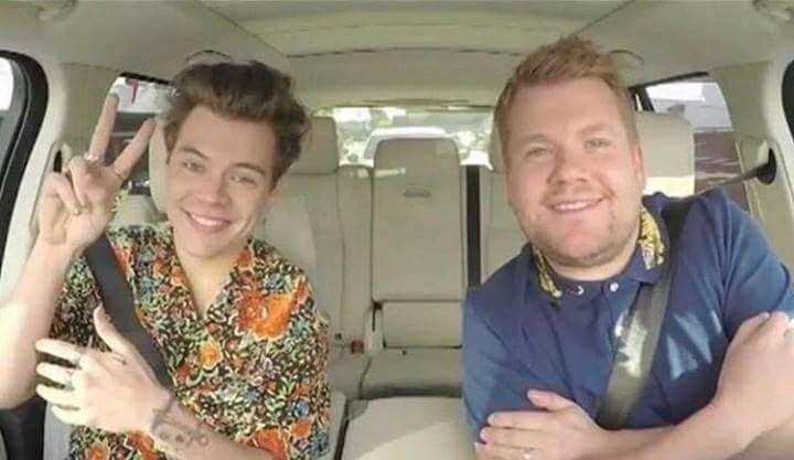 Harry Styles 'Carpool Karaoke' Video With James Corden On 'Late Late Show'