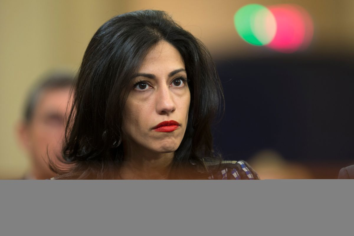 Huma Abedin, estranged wife of sex offender Anthony Weiner, reportedly files for divorce
