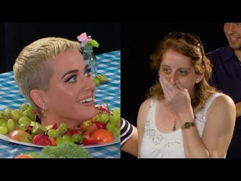 Katy Perry freaks out fans as ART EXHIBIT!