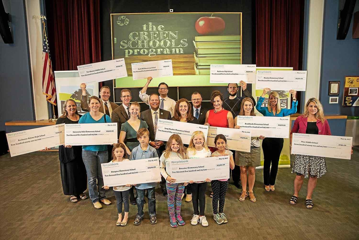 Rochester Hills schools get $25k for 12 green projects