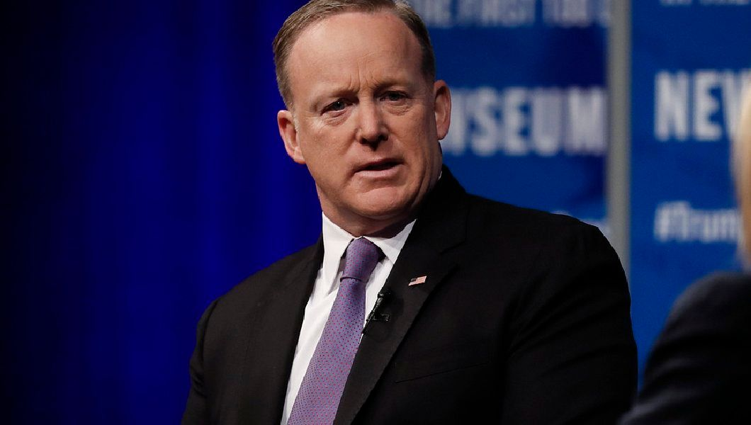 Sean Spicer at private fundraiser: Trump 'wins every time'