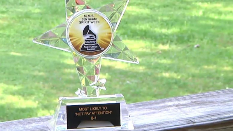 Teachers Give 'Most Likely to Not Pay Attention' Award To Middle School Student With ADHD