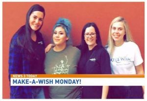 Kenworth Sales Company, Las Vegas Contributes to Make-A-Wish for ElliAnna