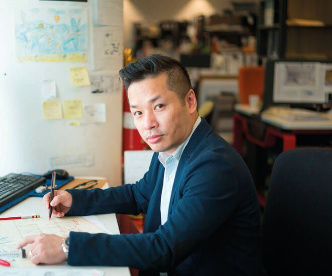 Interview with designer Aldwin Ong of Wilson Associates