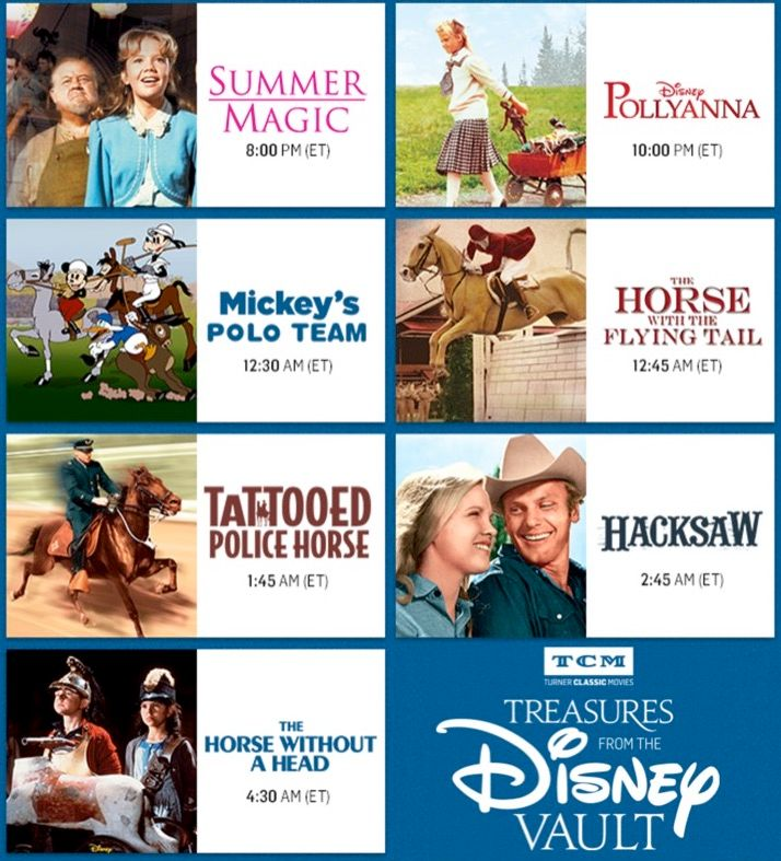 Tcm 39 S Treasures From The Disney Vault June 2017 By The Laughing Place