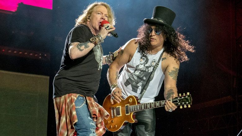 Guns N' Roses are 'assembling ideas' for a potential new album