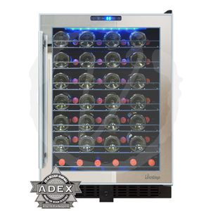 Bottle Touch Screen Mirrored Wine Cooler