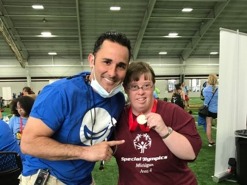 See the Special Smiles Doolin Haddad Advanced Dentistry delivered to athletes at the Michigan Special Olympics Summer Games