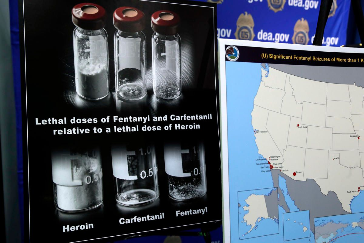 Bill would criminalize 'biggest, baddest' opioid, carfentanil