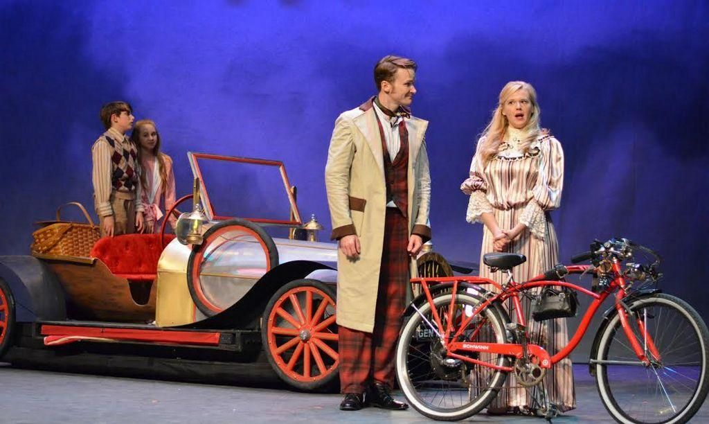 'Chitty Chitty Bang Bang' lands in Adrian