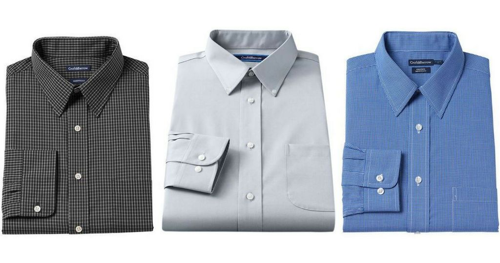 Croft & Barrel Dress Shirts for $5.83