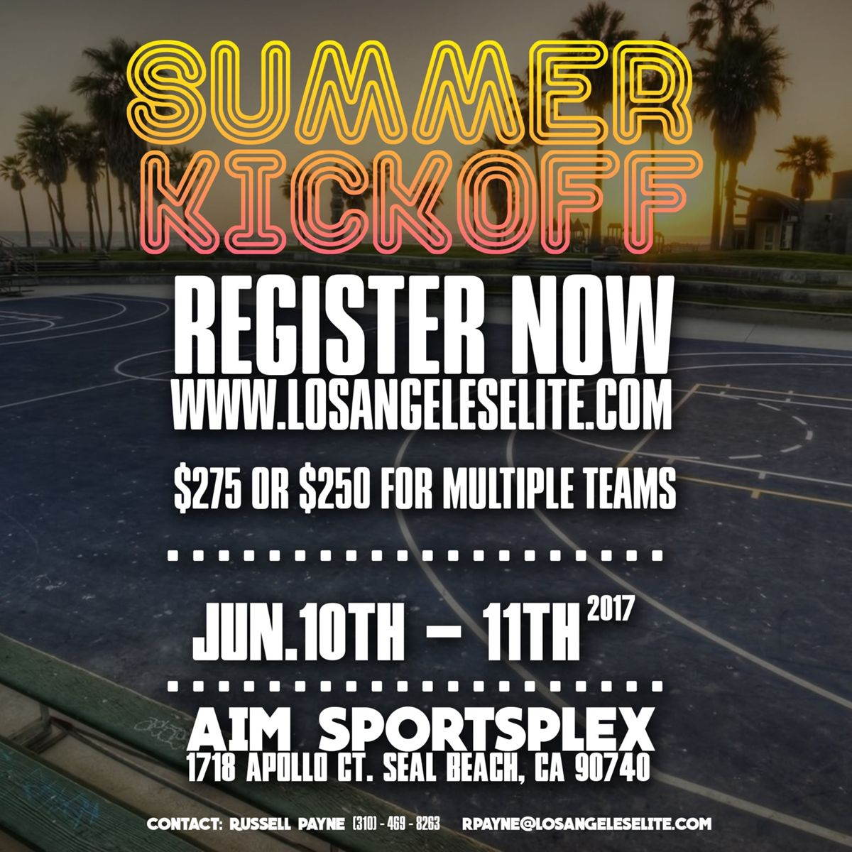 Los Angeles Elite Summer Kick