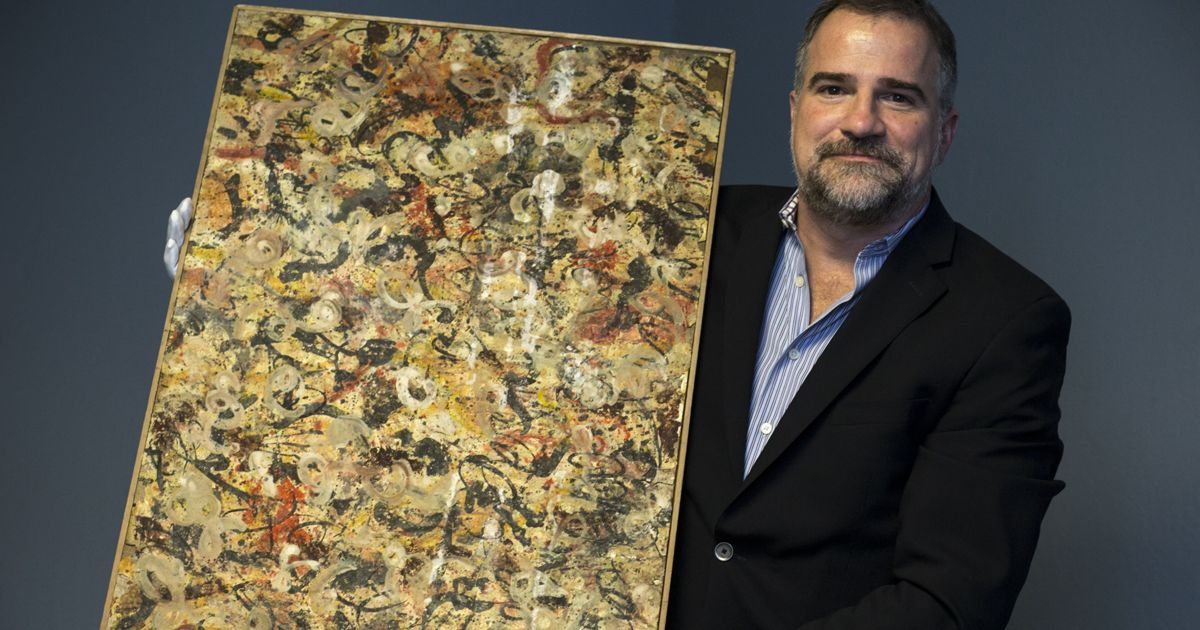 Painting pulled from Arizona garage may be a Jackson Pollock worth $10 million