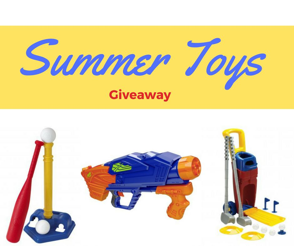Summer Toys Giveaway (3 Winners!)
