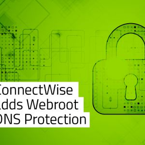 Talking SecureAnywhere DNS Protection with ConnectWise