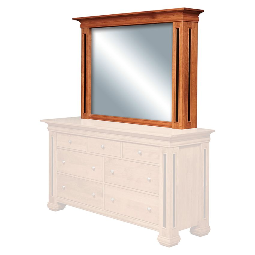 Timber Ridge Deluxe TV Mirror : O'Reilly's Furniture