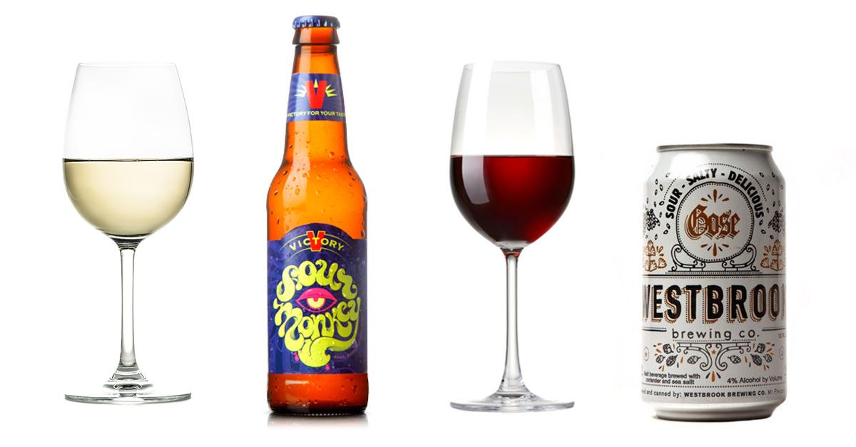 What Sour Beer to Drink Based on Wine You Like