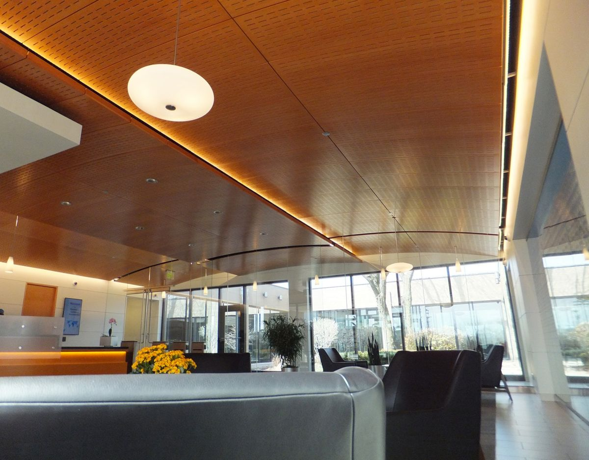 Perforated Wall/Ceiling Panels & Perforated Ceiling Reflectors