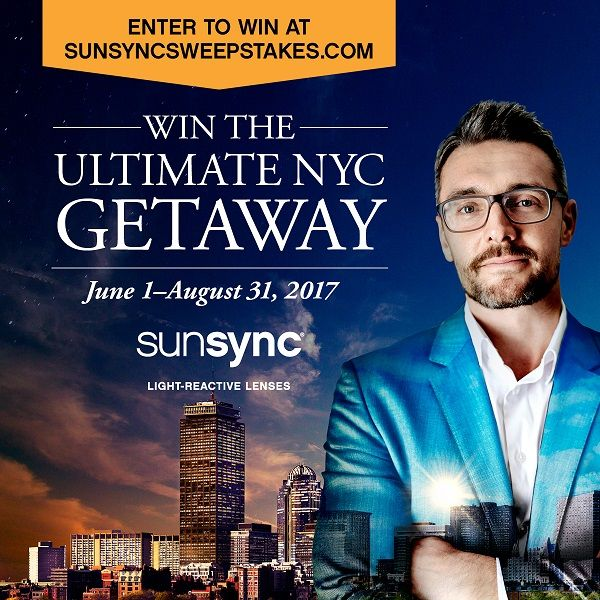 Enter to win the SunSync Ultimate NYC Getaway
