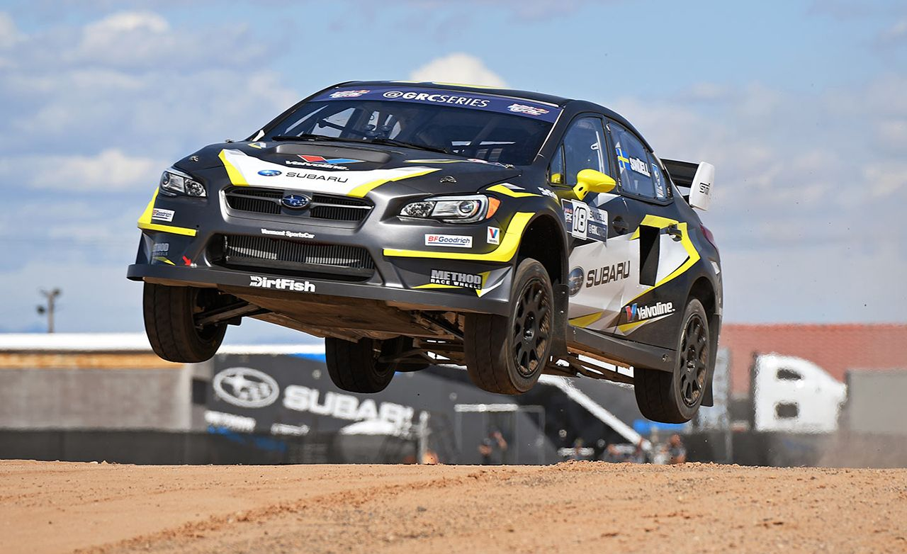 Subaru WRX STI Global Rallycross Car First Drive