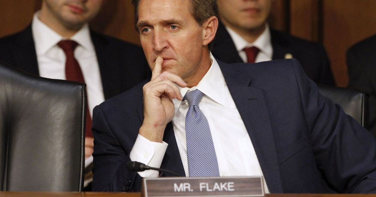 Read Flake's bombshell Senate speech:  'Mr. President, I rise today to say: Enough'