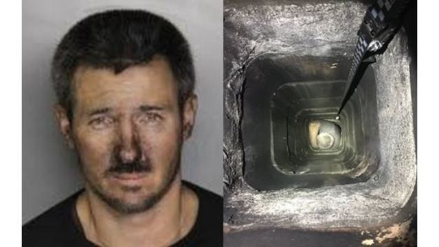 'Criminal Santa' gets stuck in chimney during burglary attempt