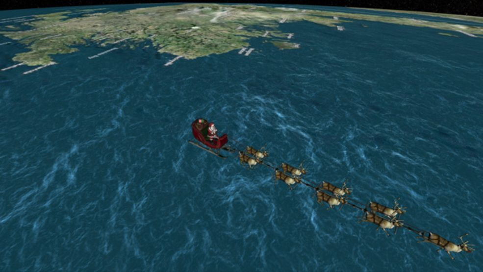 How to track Santa Claus ahead of Christmas using NORAD