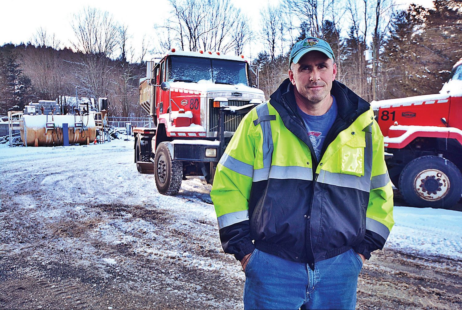 Quincy donates 3 used plow trucks to Sandisfield in wake of fire