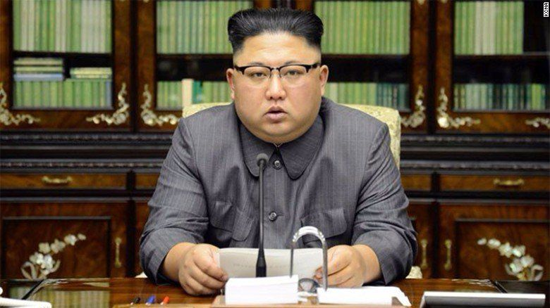 Kim Jong Un says the nuclear button is always on his desk
